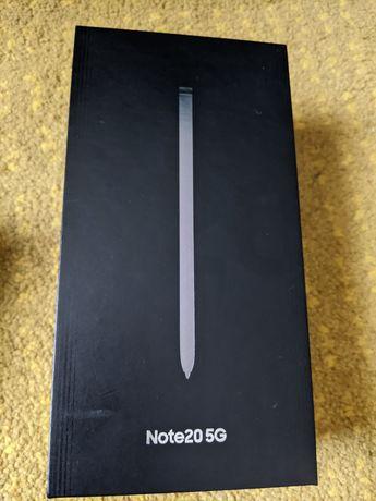 Samsung Galaxy note 20 5g nowy 24 m GW play zamiana