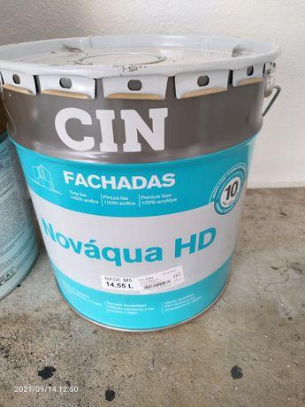 Vendo 1 lata tinta cin fachada sol nascente novo