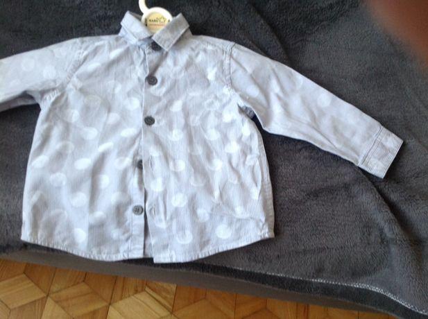 Koszula dla chłopca 6-9 miesiecy