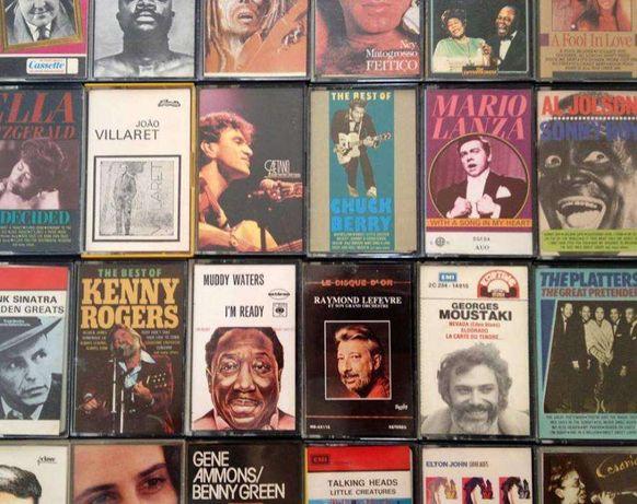 Conjunto 38 cassetes originais