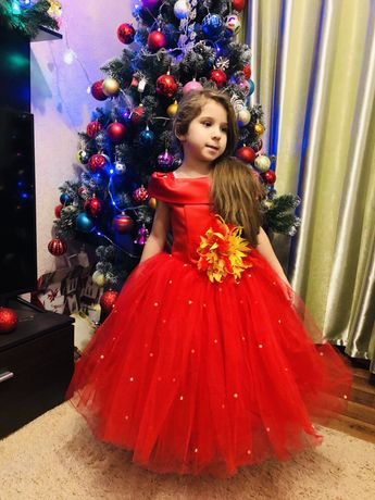 Выпускное детское нарядное платье butterfly Zara kids
