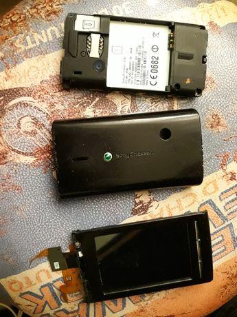 Xperia x8 obudowa tylna wyświetlacz części