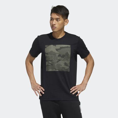 Мужская футболка ADIDAS CAMOUFLAGE BOX,Адідас Футболки