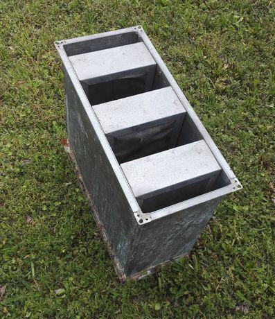 Tłumik akustyczny kanałowy prostokątny 600x250x500