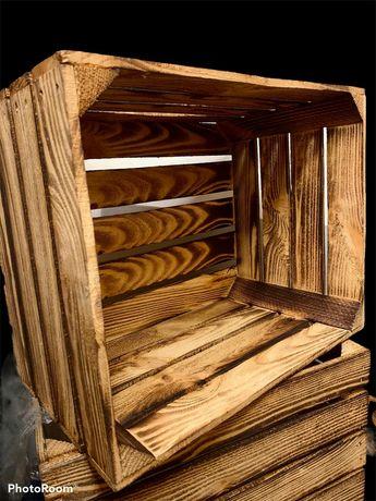Декоративні дерев'яні ящики.