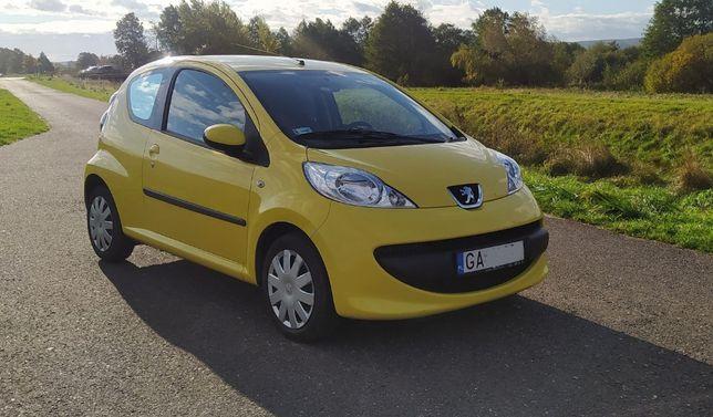 Peugeot 107 1.0 Happy , przebieg tylko 37 tyś.km. polski salon