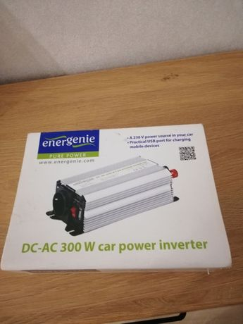 Автомобільний інвертор 12V/220V 300 Вт EnerGenie (EG-PWC-042)