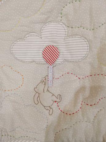 Защитный бампер (бортик) для детской кроватки