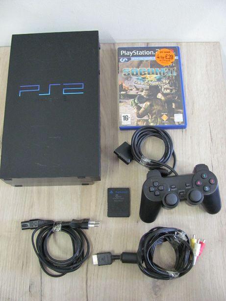 Konsola SONY PlayStation 2 Classic PS2 Gra Okablowanie Pad