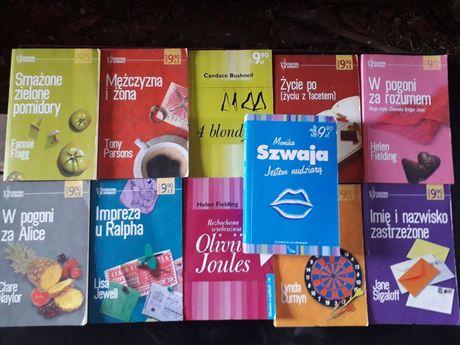Zestaw 11 książek z serii Literatura w spódnicy