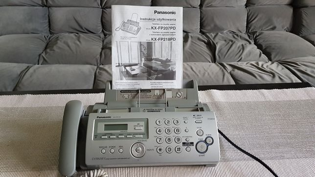 Fax Panasonic KX-FP218PD