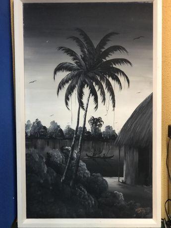 Quadro antigo original de Angola 1968