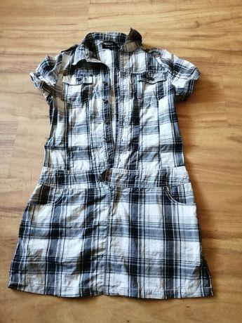 Sukienka tunika koszulowa Amisu