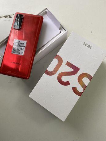 Samsung galaxy S20 fe red 128 gb, dual sim полностю новый + гарантия
