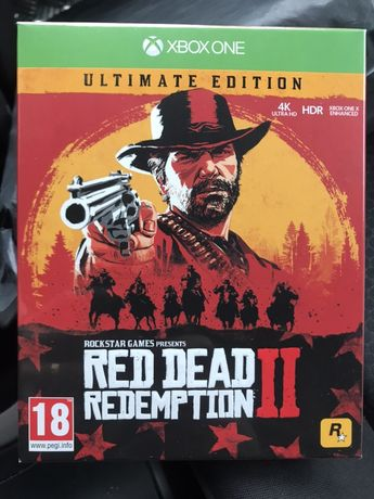 Red dead redemption 2 ultimate Edition xbox one igac