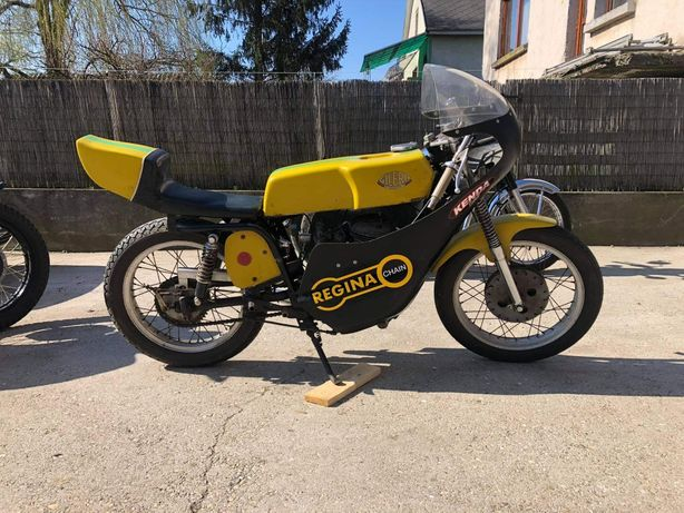 Cafe racer. retro wyscigowka Gilera 300 ccm1965r