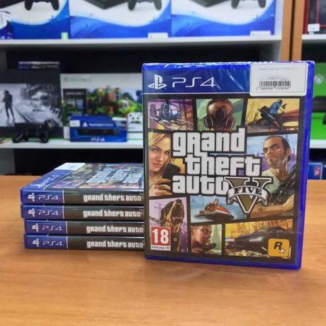 GTA V ГТА 5 Grand Theft Auto V (PS4 и PS5)