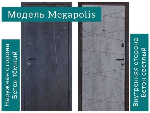 Входные металлические двери стандартные и под заказ