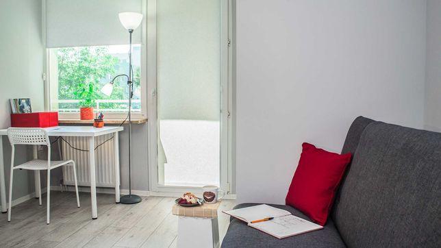 Комната для пары с балконом -NowyDwór Biedronka Bombardier LG  Wrocław