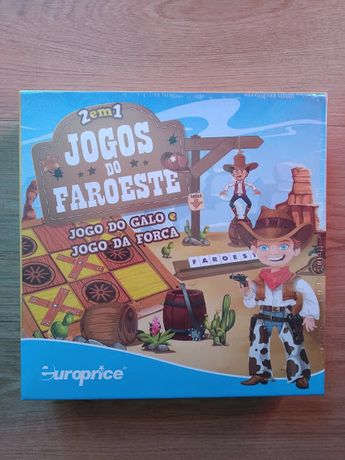 Jogos do Faroeste EUROPRICE - Novo
