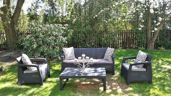 Комплект мебели Corfu Set Lyon Max, садовая мебель, садові меблі