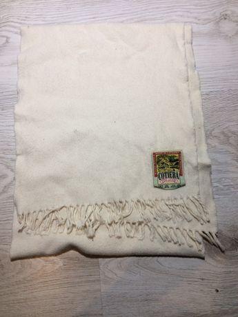Szalik szal vintage 100% bawelna bawełniany