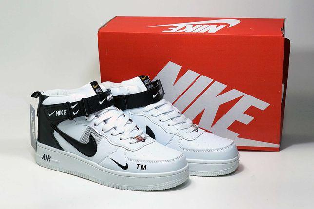(629) ЗИМА кроссовки Nike Air Force (41-45) - на меху, найки, зимние