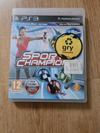Gra Sport Champion Ps3.