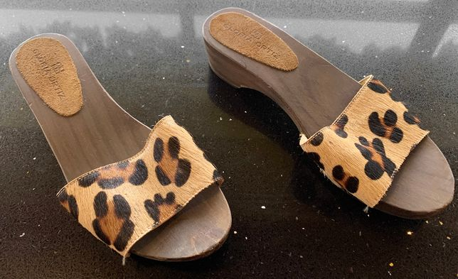 Sandálias de tacão baixo Gloria Ortiz 37 - Autenticos - PORTES GRATIS