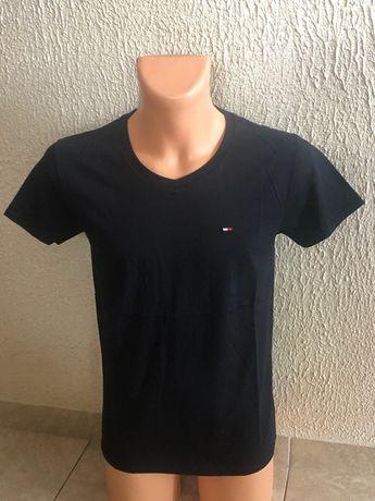 Tommy Hifiger t-shirt męski w szpic S