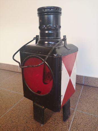 stara lampa kolejowa