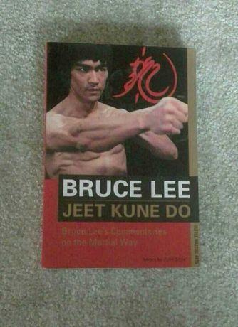 Bruce Lee jeet kune do komentarze. Ksiazka po angielsku.
