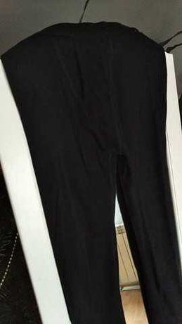 Czarne legginsy chłopięce