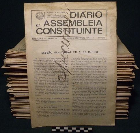 """""""Diário da Assembleia Constituinte"""" de 01/06/1975 a 01/04/1976"""