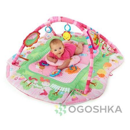 Розвиваючий коврик, развивающий коврик, Bright Starts Летний Сад