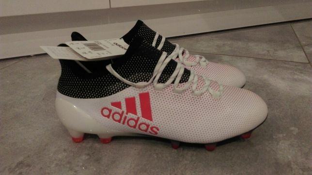 Nowe lanki Adidas profesjonalne X 17.1 FG rozmiar 39 1/3 (24.5 cm)