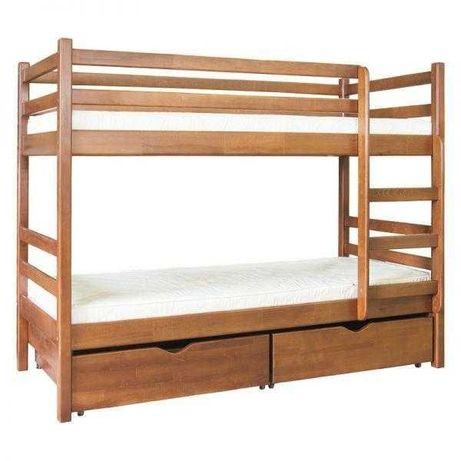 Дерев'яне, двоярусне ліжко, стан нового