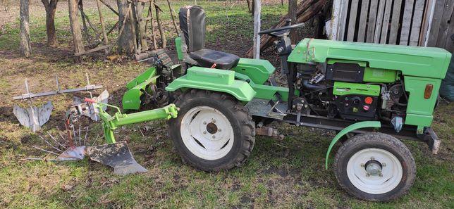 Мини трактор Фермер