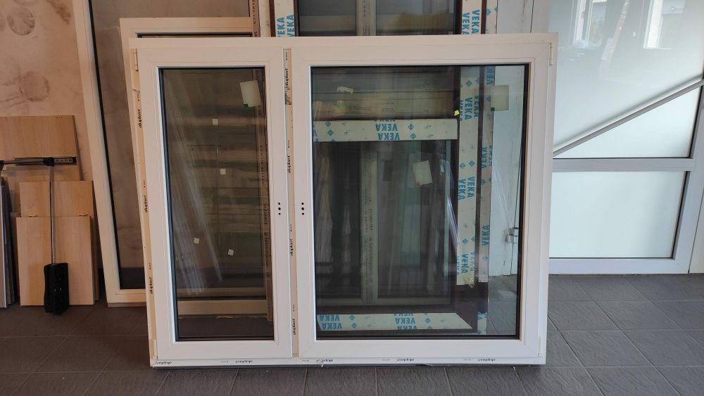 Okno PCV 173x140 białe ciepłe 3 szyby wyprzedaż -40%!! Ruda Śląska - image 1