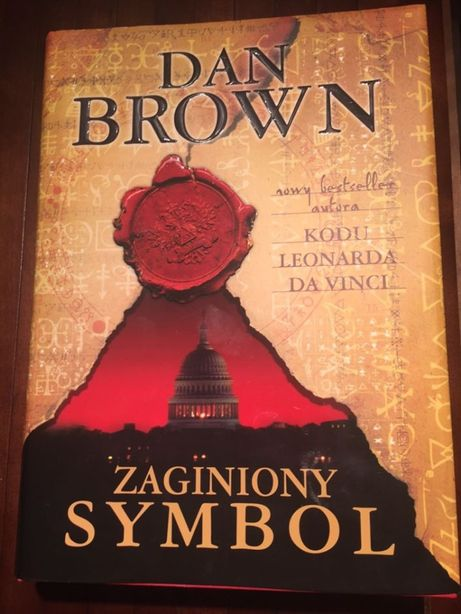 Zaginiony symbol, Dan Brown