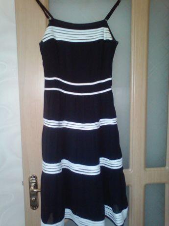 Легкий летний сарафан из шифона, платье