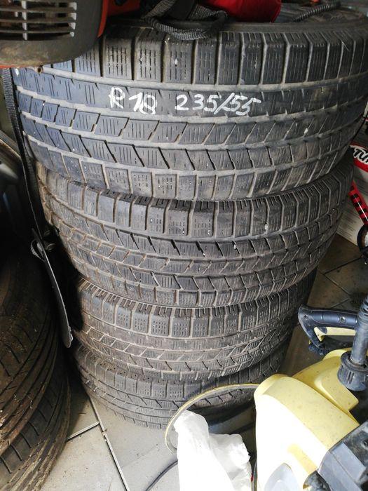 Opony Pirelli 235/55r18 zimówki Brzozów - image 1