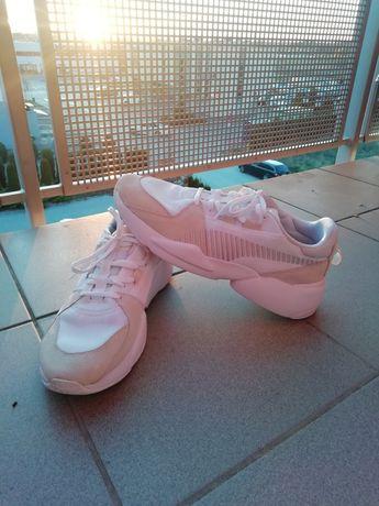 Puma Sneakers Snikers Snickers Białe Jasne buty sportowe adidasy