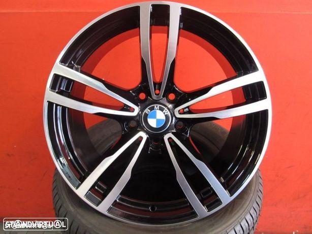 jantes 18 novas BMW S3 Performance Pretas Polidas