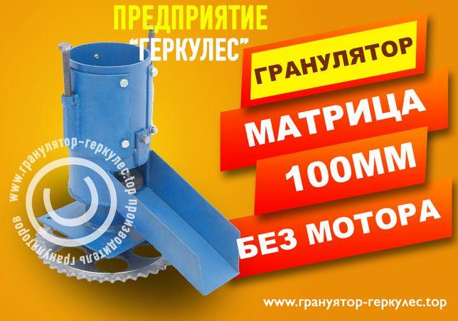 Мини Гранулятор 100мм Без мотора гранула 3мм или 4мм
