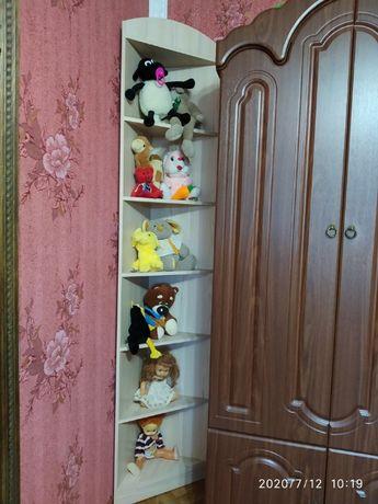 стелаж кутовий дитячої спальні Дісней