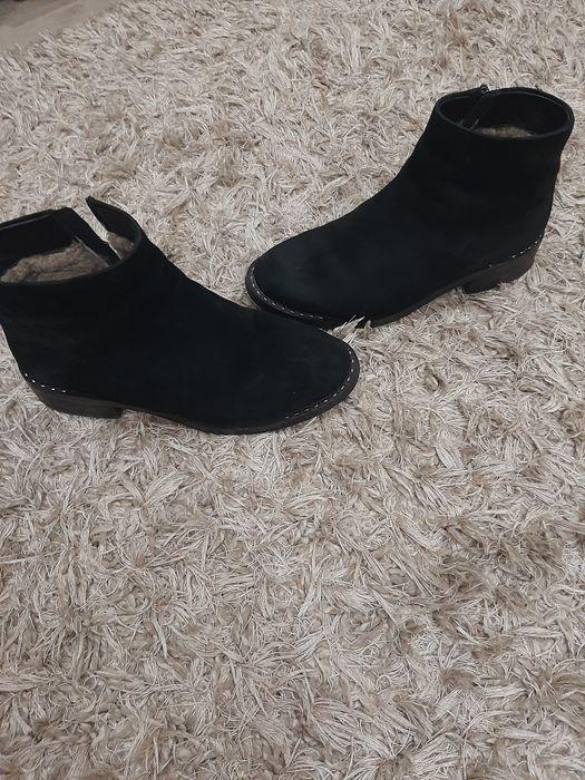 Зимние ботинки замшевые Одесса - изображение 1
