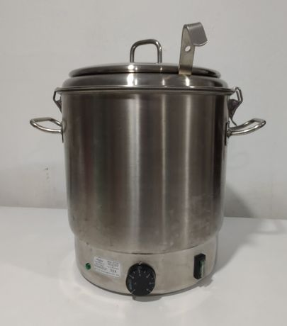 Panela de sopa elétrica em inox 10 lts