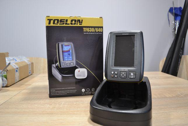 Echosonda do łódki zanętowej toslon TF 640 GPS