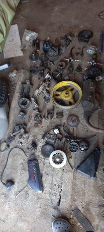 Разбор мопедов мото скай хонда такт 24 и ямахи